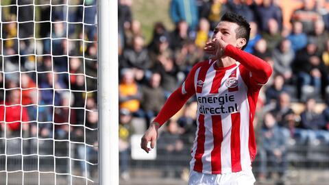 El 'Chucky' Lozano se siente muy cómodo en Holanda y no tiene afán de dejar el PSV