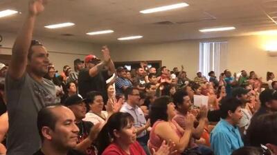 Así celebraron en Irving, Texas, el bloqueo de la mayoría de las cláusulas de la SB4