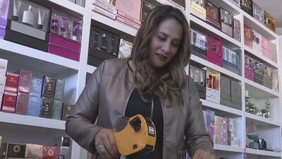 Con perfumes, esta emprendedora hispana está logrando su sueño americano