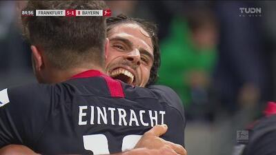 ¡Manita del Eintracht! Paciência aumenta la goleada ante el Bayern