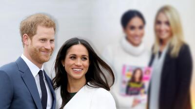 Descubren rara foto de Meghan sosteniendo una revista con Kate en la portada dos años antes que conociera a Harry