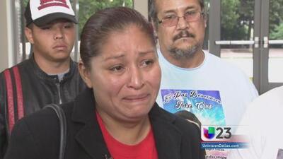Madre de José Cruz se reúne con funcionarios de Farmers Branch