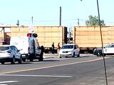 Mujer muere atropellada por un tren en el centro de Fresno