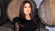 Salma Hayek se arrepiente de sus desnudos en el cine y recuerda una escena de sexo con Antonio Banderas