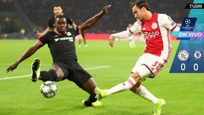 EN VIVO | Segundo aviso del Chelsea en la portería del Ajax
