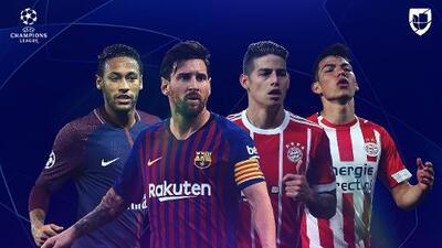 América Latina, somos futbol, somos Champions League