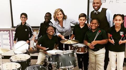 Cumpliendo sueños: Karla Martínez visitó a una niños muy talentosos para llevarles una sorpresa