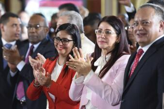 In photos: swearing in of the 'Chavista' Constituent Assembly that will govern Venezuela on an interim basis