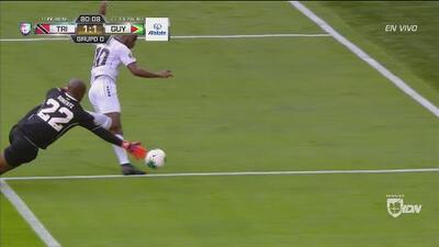 Molino se quita al arquero y empata 1-1 con golazo de Trinidad y Tobago