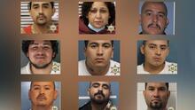 Estos son los 9 fugitivos más buscados en el condado de Tulare