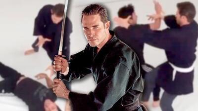 Sebastián Rulli muestra cómo grabó las escenas de artes marciales para El Dragón