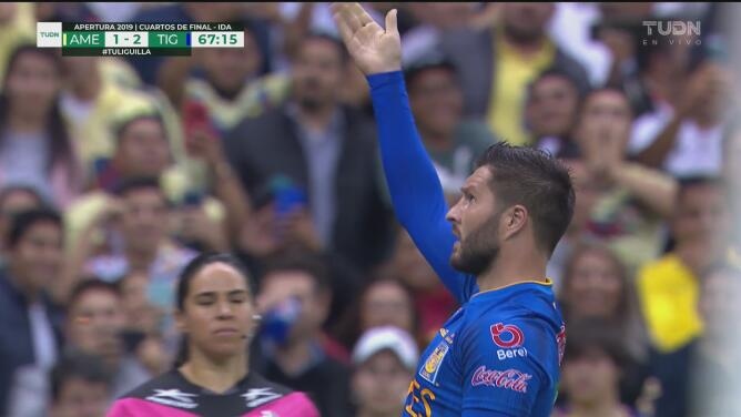 ¡Dos veces a Ochoa! Gignac da la voltereta 1-2 de penalti