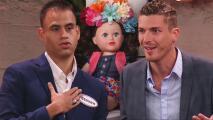 Steven y Kevin no se callaron sus opiniones sobre la muñeca que Geny recibió de su flechado