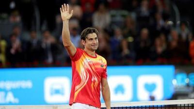 David Ferrer queda eliminado del Masters de Madrid y termina su carrera como profesional