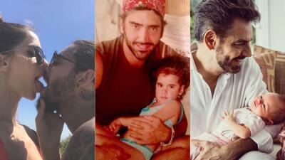 EN FOTOS: Así celebraron los famosos el Día de los Padres