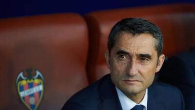 """Valverde: """"No es normal que recibamos cinco goles"""""""