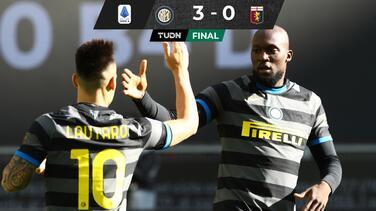 Más líder que nunca... Lukaku encarrila al Inter ante Genoa