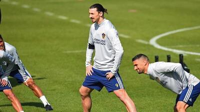 Zlatan ya marcó con el LA Galaxy: el sueco brilló en su primera práctica con el equipo