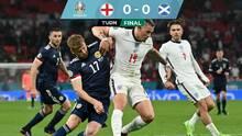 Inglaterra se atascó y sufrió ante una valiente Escocia en Wembley