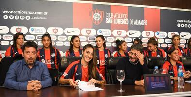 ¡Histórico! San Lorenzo se convierte en el primer club argentino en dar contratos sus jugadoras