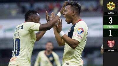 Roger Martínez se crece en el nido y marca doblete para superar a Necaxa en la Copa MX