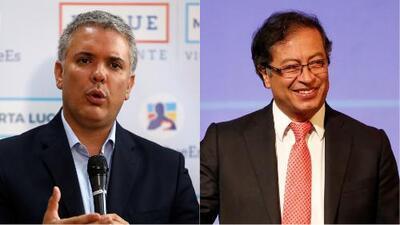 Iván Duque y Gustavo Petro se enfrentarán en la segunda vuelta presidencial en Colombia