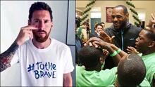 Messi, LeBron y los deportistas que son altruistas