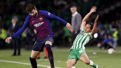 Loren Morón elogia asistencia de Diego Lainez ante el Barcelona