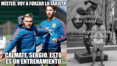 Memelogía | La actuación de Messi, de Sergio Ramos y las burlas a los juegos de la fecha FIFA