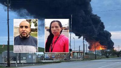 Preocupados pero confiados: así están algunos residentes del área donde arde un incendio en Deer Park