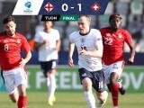Resumen | Suiza sorprende y derrota 0-1 a Inglaterra en la Euro Sub-21