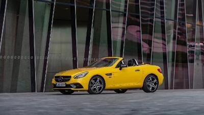 El Mercedes-Benz SLC se despide con una edición especial