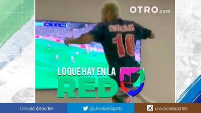 ¡Lo gritó con el alma! Así celebró Neymar el triunfo del PSG sobre el Manchester United