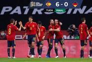 España humilló a Alemania y la eliminó de la Nations League
