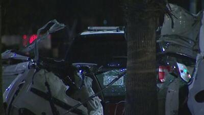 Una persona muere tras aparatoso choque en el que un deportivo Maserati se partió en dos