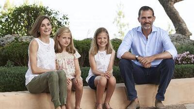 La Familia Real española de veraneo
