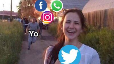 Sin Whatsapp, sin Instagram, sin Facebook... sin vida, pero con muchos memes