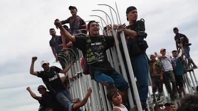 ¿La caravana de migrantes centroamericanos está organizada con fines políticos?