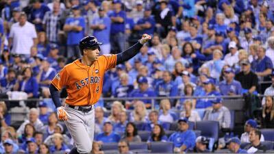 Astros pegaron primero contra Royals