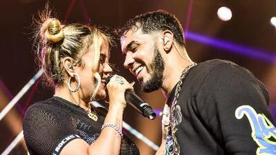 Anuel AA and Karol G wrap up Latin America tour