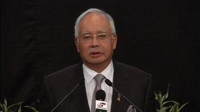 Primer Ministro de Malasia: el vuelo MH370 terminó en el sur del Océano Índico