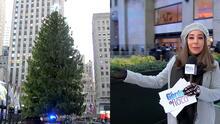 Todo listo para el tradicional encendido del árbol de Navidad del Rockefeller Center