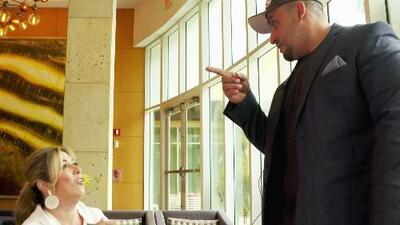 Juan Rivera se levantó y estuvo a punto de abandonar la entrevista con la productora ejecutiva de Despierta América