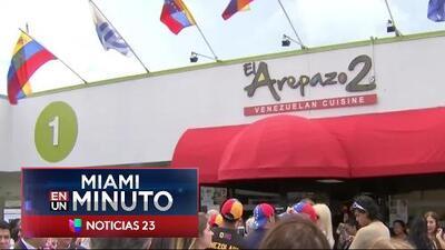 'Miami en un Minuto': el grupo Venezuela Tricolor se reunirá en Miami para tratar la crisis que vive su país