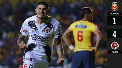 Morelia 1-4 Xolos de Tijuana - RESUMEN Y GOLES - Jornada 16 - Clausura 2019 - Liga MX