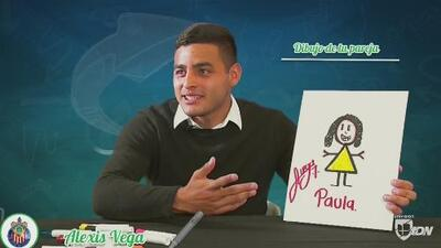 Cuéntamelo: Aguilar, Vega y Pérez dibujaron a su pareja en el Día del Amor y la Amistad