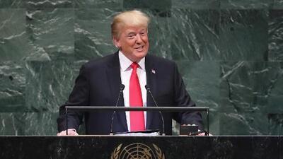 'Estados Unidos Primero' le ha dado pie a 'Estados Unidos tiene que ponerse al día' mientras los países se preparan para reunirse en la ONU