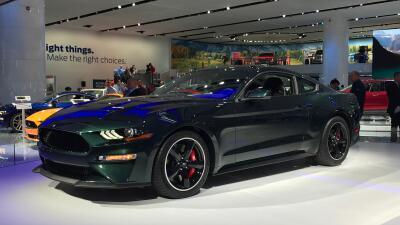 Este es el Ford Mustang Bullitt 2019