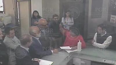 Fiscalía de México difunde video de la visita de Ricardo Anaya a sus instalaciones