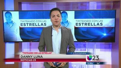 Twiteando con las estrellas con Danny Luna